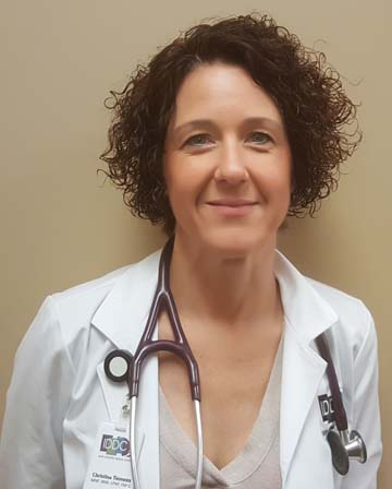 Christina Hendricks, ARNP